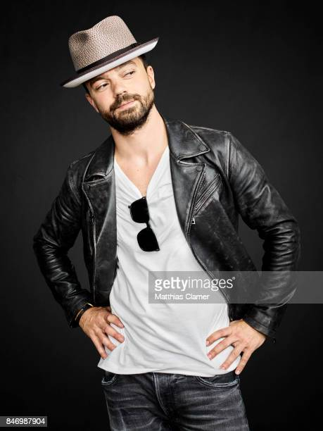 Actor Dominic Cooper from 'Preacher' is photographed for Entertainment Weekly Magazine on July 22 2016 at Comic Con in the Hard Rock Hotel in San...
