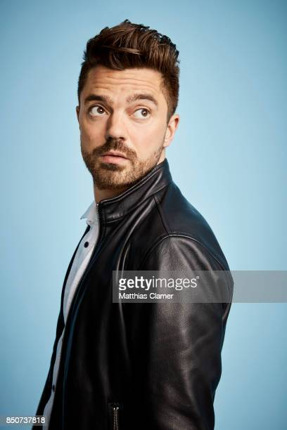 Actor Dominic Cooper from Preacher is photographed for Entertainment Weekly Magazine on July 20 2017 at Comic Con in San Diego California PUBLISHED...
