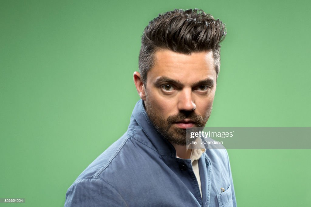Actor Dominic Cooper from the television series 'Preacher,' is photographed in the L.A. Times photo studio at Comic-Con 2017, in San Diego, CA on July 21, 2017.