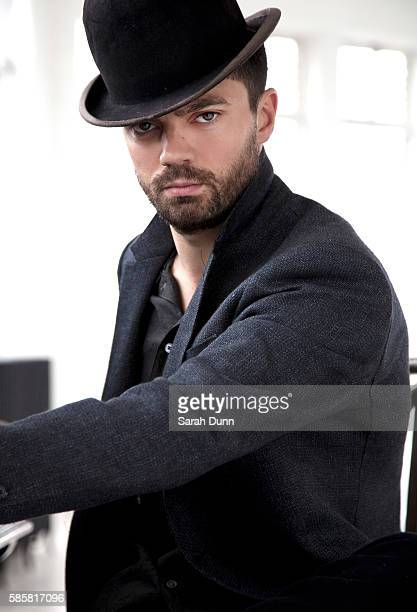 Actor Dominic Cooper is photographed for the New York Moves magazine on April 23 2012 in London England