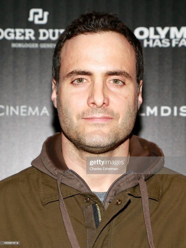 Actor Dominic Fumusa attends The Cinema Society with Roger Dubuis and Grey Goose screening of FilmDistrict's 'Olympus Has Fallen' at the Tribeca Grand Screening Room on March 11, 2013 in New York City.