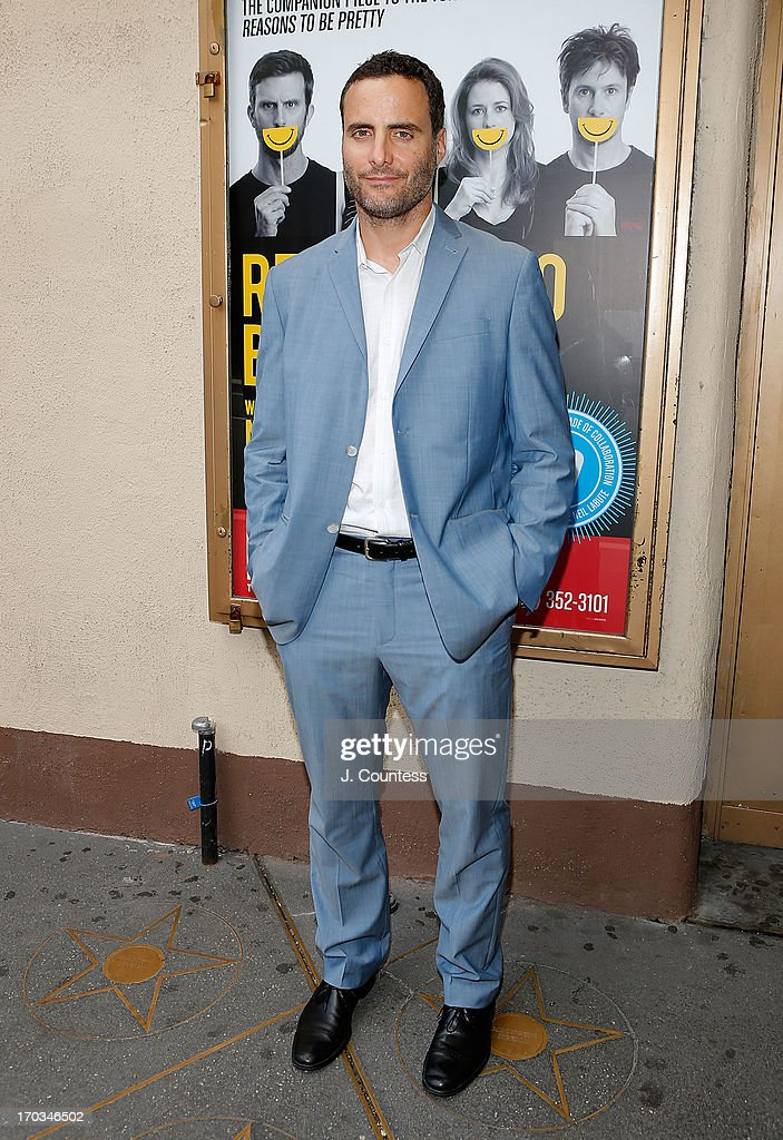 Actor Dominic Fumusa attends the 'Reasons To Be Happy' Broadway Opening Night at Lucille Lortel Theatre on June 11, 2013 in New York City.