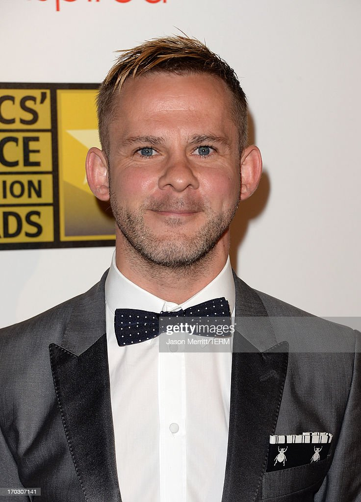Actor Dominic Monaghan arrives at Broadcast Television Journalists Association's third annual Critics' Choice Television Awards at The Beverly Hilton Hotel on June 10, 2013 in Beverly Hills, California.