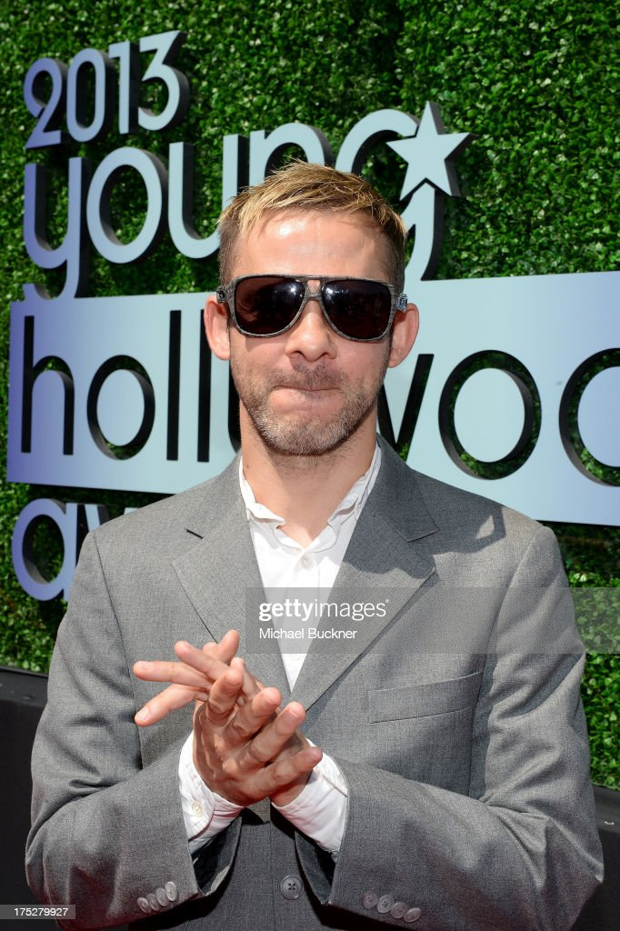 Actor <a gi-track='captionPersonalityLinkClicked' href=/galleries/search?phrase=Dominic+Monaghan&family=editorial&specificpeople=209279 ng-click='$event.stopPropagation()'>Dominic Monaghan</a> attends CW Network's 2013 Young Hollywood Awards presented by Crest 3D White and SodaStream held at The Broad Stage on August 1, 2013 in Santa Monica, California.