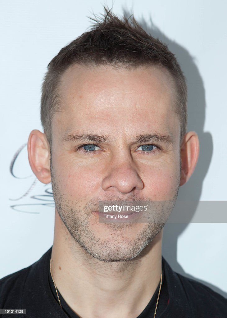 Actor Dominic Monaghan attends the GBK & Cartoon Network's Official Backstage Thank You Lounge at Barker Hangar on February 9, 2013 in Santa Monica, California.