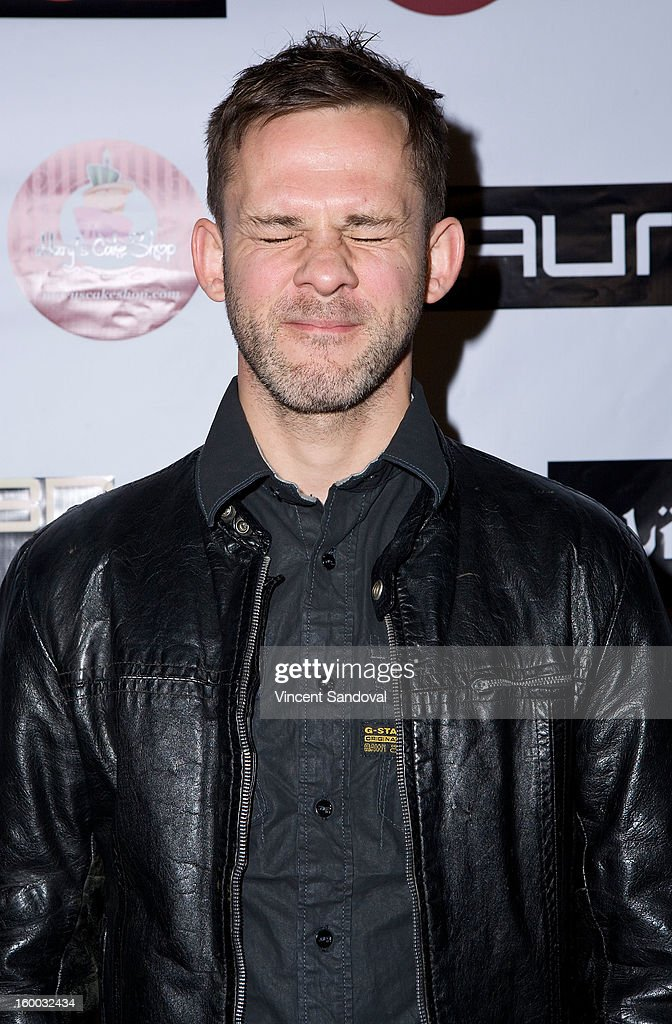 Actor Dominic Monaghan attends the premiere of 'Vishwaroopam' at Pacific Theaters at the Grove on January 24, 2013 in Los Angeles, California.