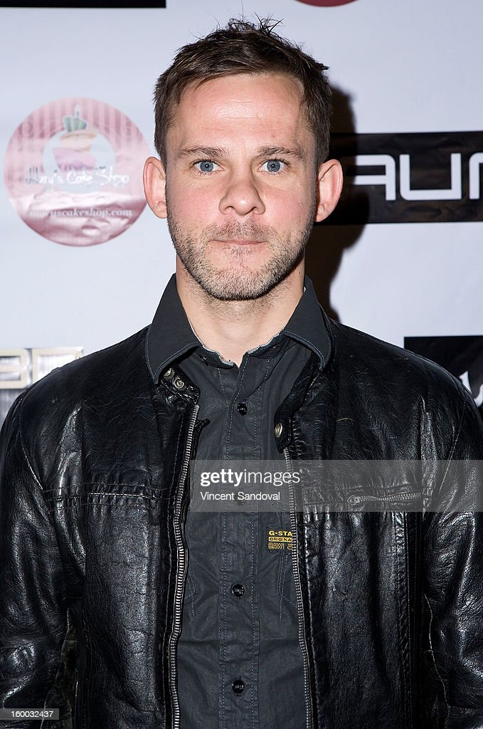 Actor <a gi-track='captionPersonalityLinkClicked' href=/galleries/search?phrase=Dominic+Monaghan&family=editorial&specificpeople=209279 ng-click='$event.stopPropagation()'>Dominic Monaghan</a> attends the premiere of 'Vishwaroopam' at Pacific Theaters at the Grove on January 24, 2013 in Los Angeles, California.