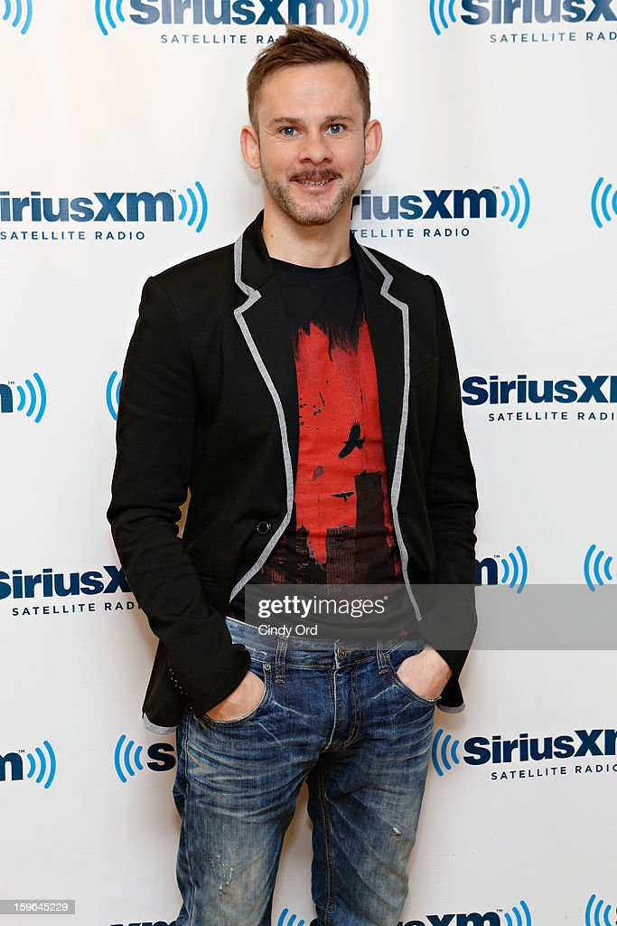 Actor <a gi-track='captionPersonalityLinkClicked' href=/galleries/search?phrase=Dominic+Monaghan&family=editorial&specificpeople=209279 ng-click='$event.stopPropagation()'>Dominic Monaghan</a> visits the SiriusXM Studios on January 17, 2013 in New York City.