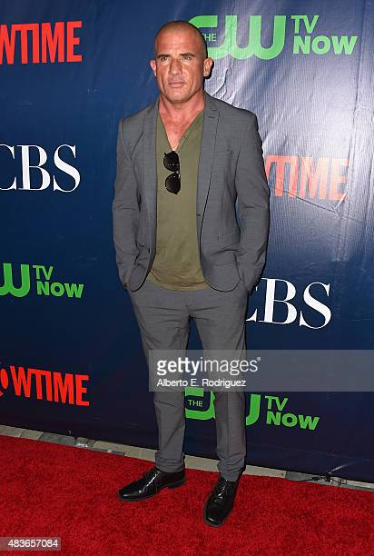 Actor Dominic Purcell attends CBS' 2015 Summer TCA party at the Pacific Design Center on August 10 2015 in West Hollywood California