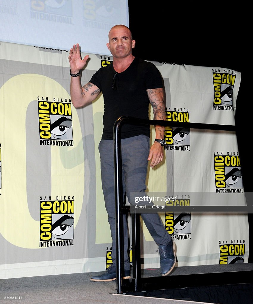 Actor Dominic Purcell attends the Fox Action Showcase 'Prison Break' And '24 Legacy' during ComicCon International 2016 at San Diego Convention...