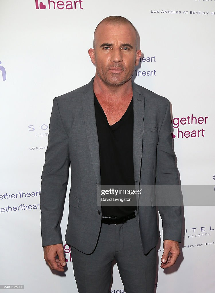 Actor Dominic Purcell attends together1heart launch party hosted by AnnaLynne McCord at Sofitel Hotel on June 25, 2016 in Los Angeles, California.