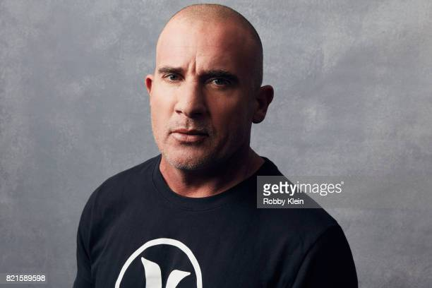 Actor Dominic Purcell from CW's 'Legends of Tomorrow' poses for a portrait during ComicCon 2017 at Hard Rock Hotel San Diego on July 22 2017 in San...