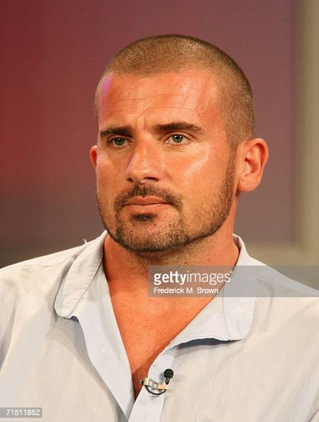 Actor Dominic Purcell from 'Prison Break' attends the 2006 Summer Television Critics Association Press Tour for the FOX Broadcasting Company at the...