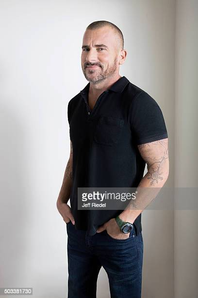 Actor Dominic Purcell is photographed for TV Guide Magazine on January 17 2015 in Pasadena California