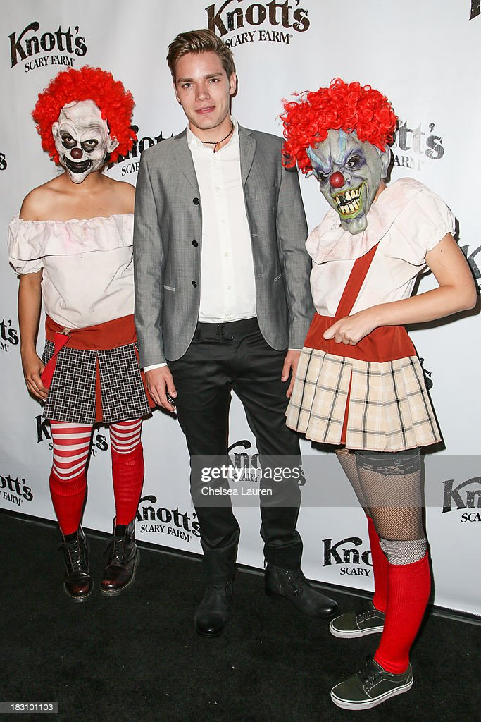 Actor Dominic Sherwood attends the Knott's Scary Farm 'Haunt' VIP Opening Night Party at Knott's Berry Farm on October 3, 2013 in Buena Park, California.