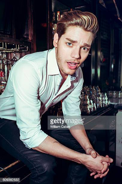 Actor Dominic Sherwood is photographed for The Wrap on January 12 2016 in Los Angeles California