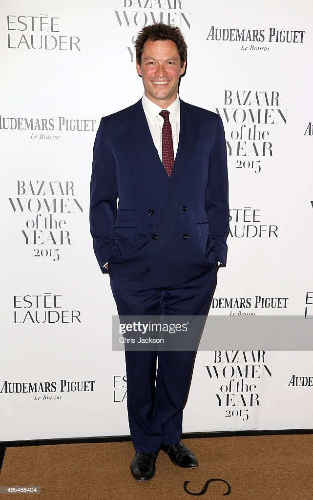 Actor <a gi-track='captionPersonalityLinkClicked' href=/galleries/search?phrase=Dominic+West&family=editorial&specificpeople=211555 ng-click='$event.stopPropagation()'>Dominic West</a> attends Harper's Bazaar Women of the Year Awards at Claridge's Hotel on November 3, 2015 in London, England.