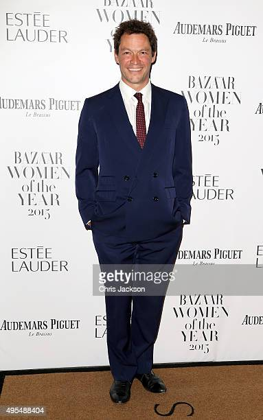 Actor Dominic West attends Harper's Bazaar Women of the Year Awards at Claridge's Hotel on November 3 2015 in London England