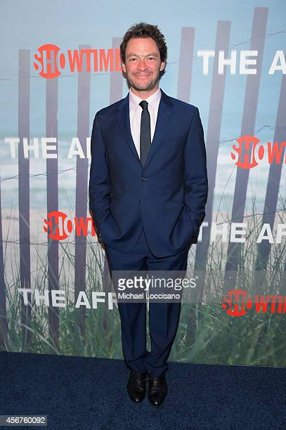 Actor Dominic West attends premiere of SHOWTIME drama 'The Affair' held at North River Lobster Company on October 6 2014 in New York City