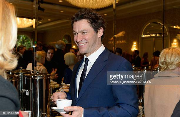 Actor Dominic West attends the BAFTA Los Angeles Tea Party at The Four Seasons Hotel Los Angeles At Beverly Hills on January 10 2015 in Los Angeles...