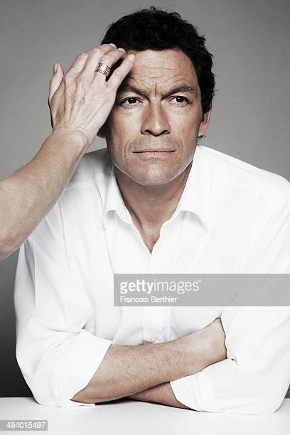 Actor Dominic West is photographed for Self Assignment on May 23 2014 in Cannes France