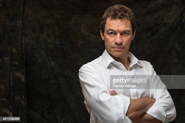 Actor Dominic West is photographed in Cannes France