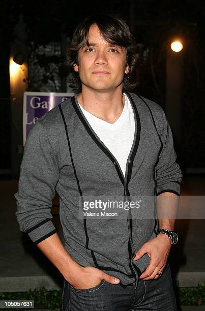 Actor Dominic Zamprogna arrives at Kander Ebb's 'The World Goes 'Round'on October 7 2010 in Los Angeles California