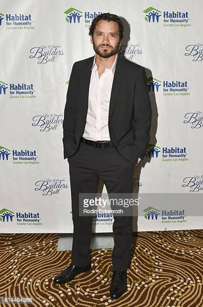 Actor Dominic Zamprogna attends the Habitat LA 2016 Los Angeles Builders Ball at Regent Beverly Wilshire Hotel on October 13 2016 in Beverly Hills...