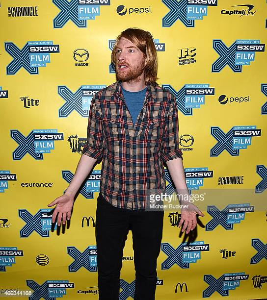 Actor Domnhall Gleeson arrives at the premiere of 'Ex Machina' during the 2015 SXSW Music FIlm Interactive Festival at the Paramount on March 14 2015...