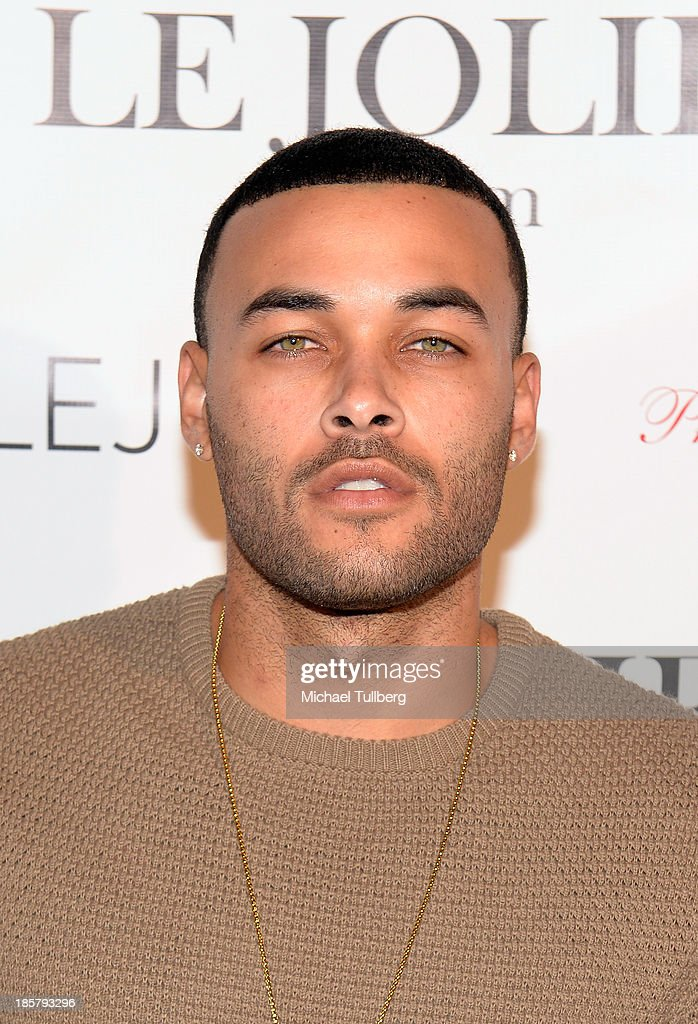Actor Don Benjamin attends the LeJolie.com launch party at No Vacancy on October 24, 2013 in Los Angeles, California.