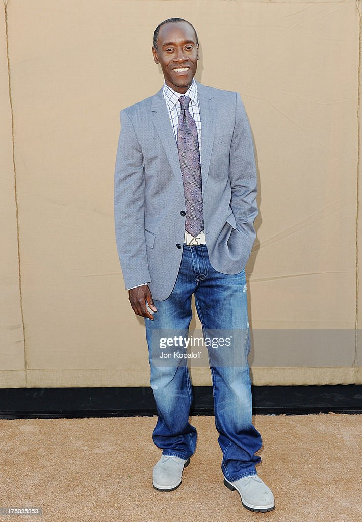 Actor Don Cheadle arrives at the 2013 Television Critic Association's Summer Press Tour - CBS, The CW, Showtime Party at The Beverly Hilton Hotel on July 29, 2013 in Beverly Hills, California.