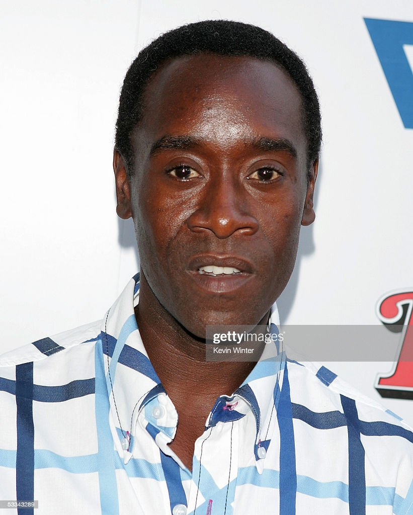 Actor Don Cheadle arrives at the premiere of 'The Brothers Grimm' at the DGA Theater on August 8, 2005 in Los Angeles, California.