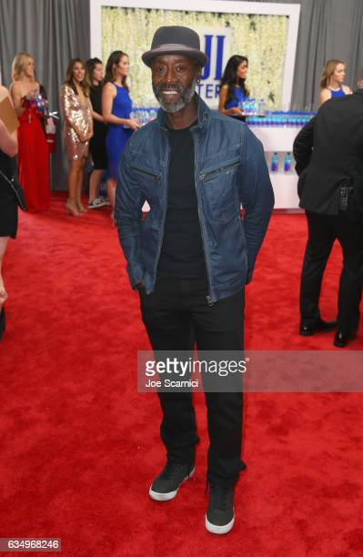 Actor Don Cheadle at The 59th Annual GRAMMY Awards at STAPLES Center on February 12 2017 in Los Angeles California