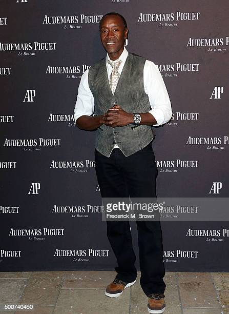 Actor Don Cheadle attends Audemars Piquet Celebrates Grand Opening of Rodeo Drive Boutique on December 9 2015 in Beverly Hills California