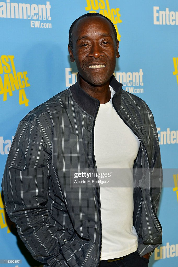 Actor <a gi-track='captionPersonalityLinkClicked' href=/galleries/search?phrase=Don+Cheadle&family=editorial&specificpeople=202096 ng-click='$event.stopPropagation()'>Don Cheadle</a> attends Entertainment Weekly's 6th Annual Comic-Con Celebration sponsored by Just Dance 4 held at the Hard Rock Hotel San Diego on July 14, 2012 in San Diego, California.