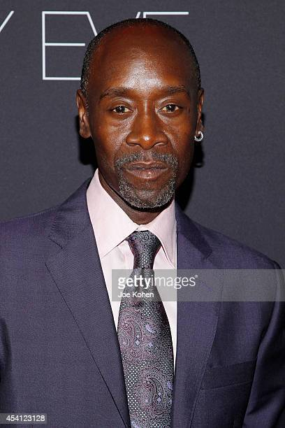 Actor Don Cheadle attends Showtime 2014 Emmy Eve at Sunset Tower on August 24 2014 in West Hollywood California