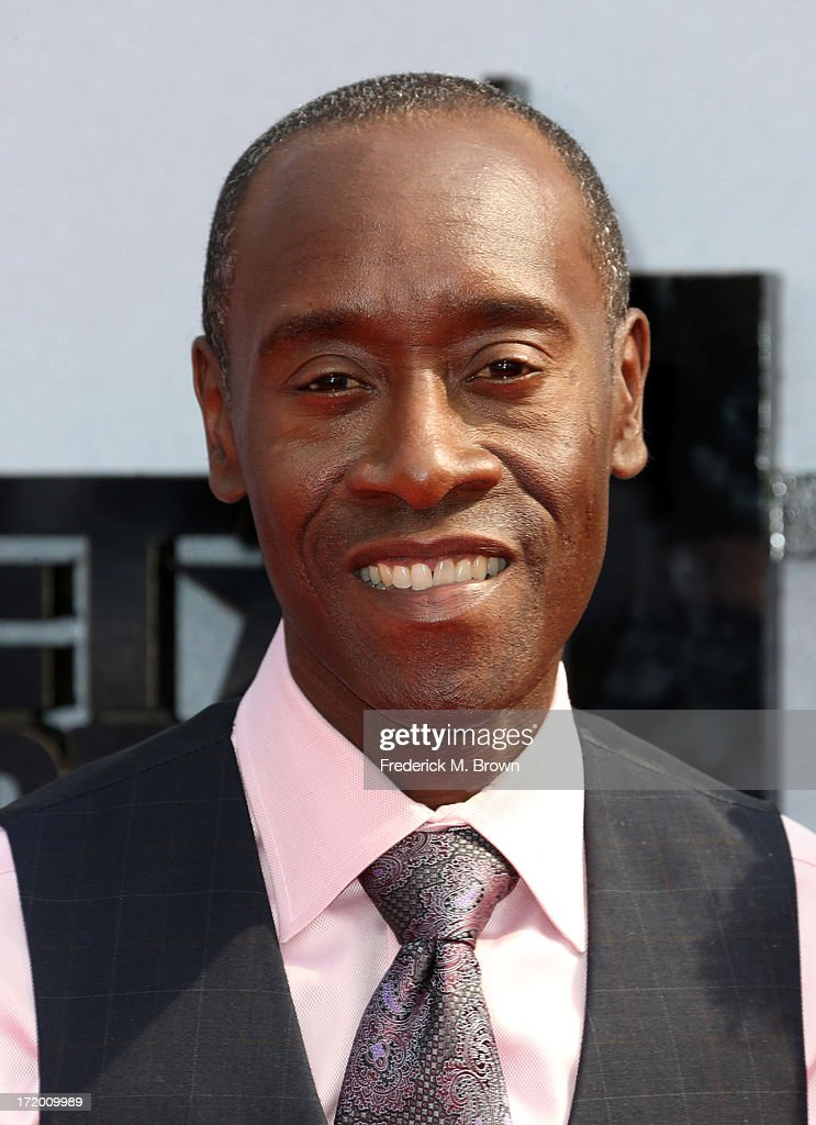 Actor <a gi-track='captionPersonalityLinkClicked' href=/galleries/search?phrase=Don+Cheadle&family=editorial&specificpeople=202096 ng-click='$event.stopPropagation()'>Don Cheadle</a> attends the 2013 BET Awards at Nokia Theatre L.A. Live on June 30, 2013 in Los Angeles, California.
