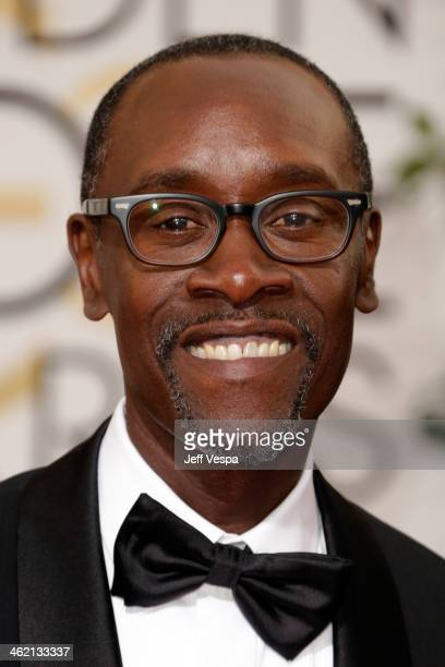 Actor Don Cheadle attends the 71st Annual Golden Globe Awards held at The Beverly Hilton Hotel on January 12 2014 in Beverly Hills California