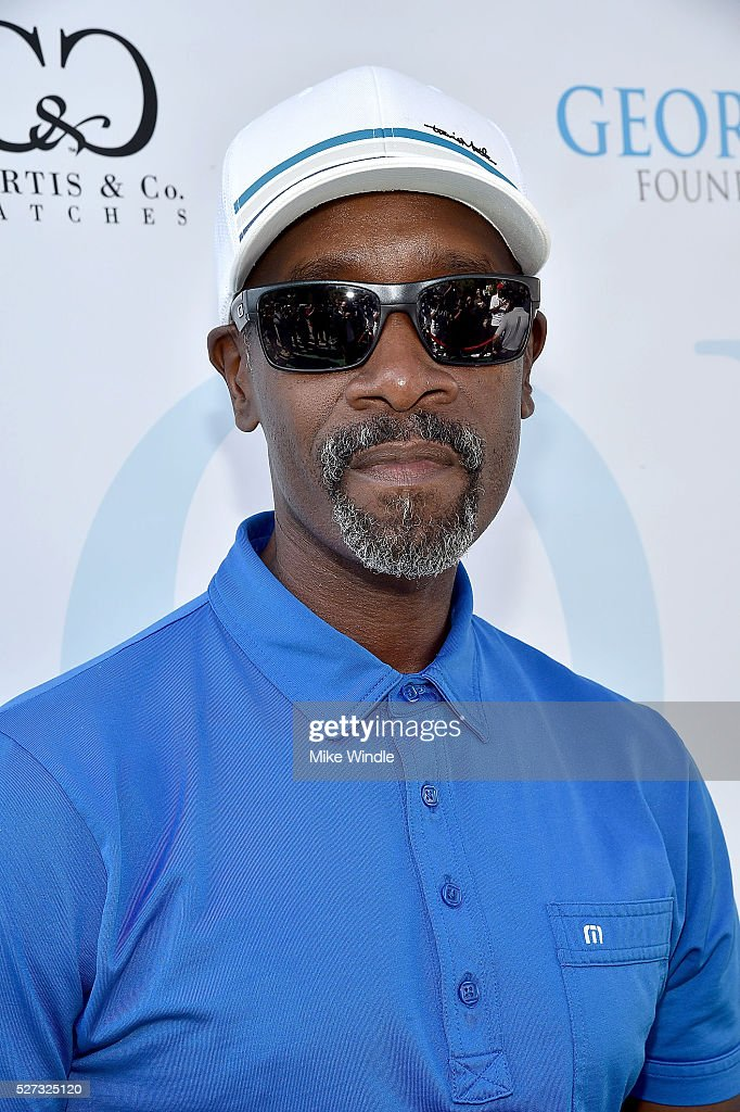 Actor Don Cheadle attends the 9th Annual George Lopez Celebrity Golf Classic to benefit The George Lopez Foundation at Lakeside Golf Club on May 2, 2016 in Burbank, California.