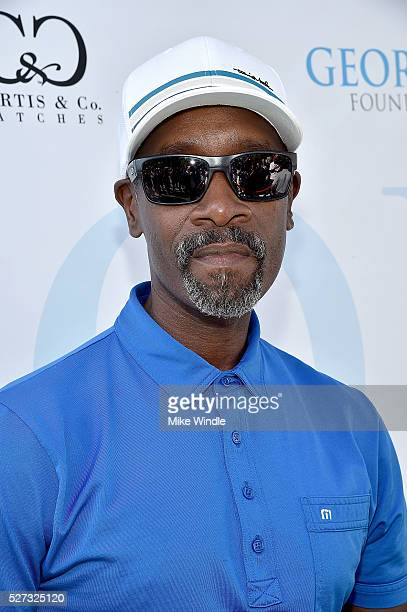 Actor Don Cheadle attends the 9th Annual George Lopez Celebrity Golf Classic to benefit The George Lopez Foundation at Lakeside Golf Club on May 2...