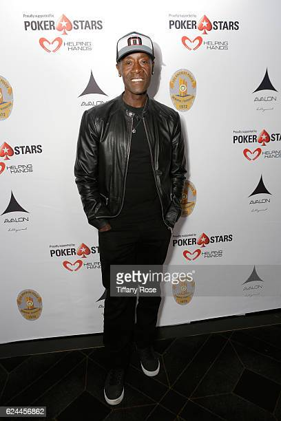 Actor Don Cheadle attends the Los Angeles Police Memorial Foundation Celebrity Poker Tournament and Party held at Avalon Hollywood on November 19...