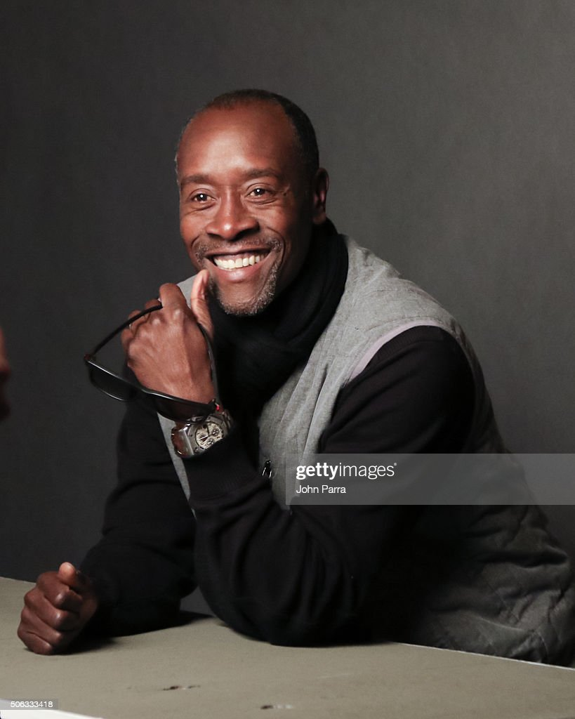 Actor Don Cheadle from the film 'Miles Ahead' poses for a portrait during the Hollywood Reporter 2016 Sundance Studio at Rock & Reilly's Day 1 on January 22, 2016 in Park City, Utah.