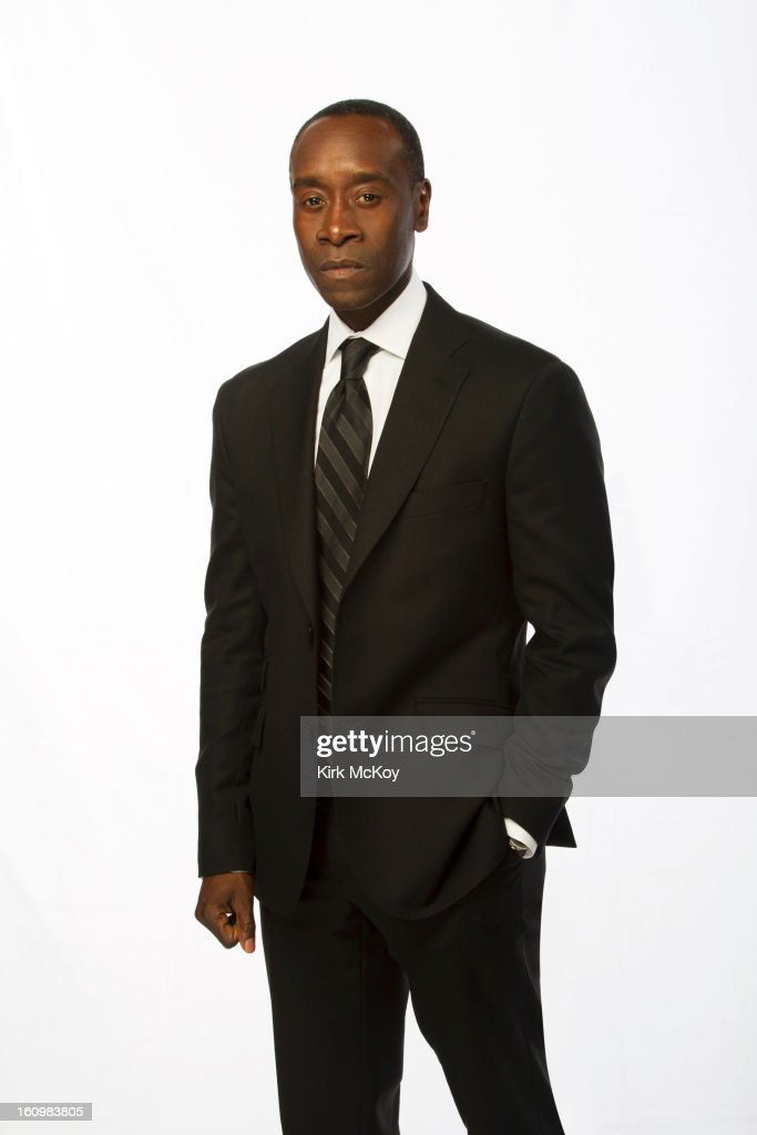 Actor Don Cheadle is photographed at the NAACP Image Awards for Los Angeles Times on February 1, 2013 in Los Angeles, California. PUBLISHED IMAGE.