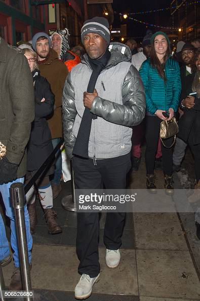 Actor Don Cheadle is seen around town at the Sundance Film Festival on January 23 2016 in Park City Utah