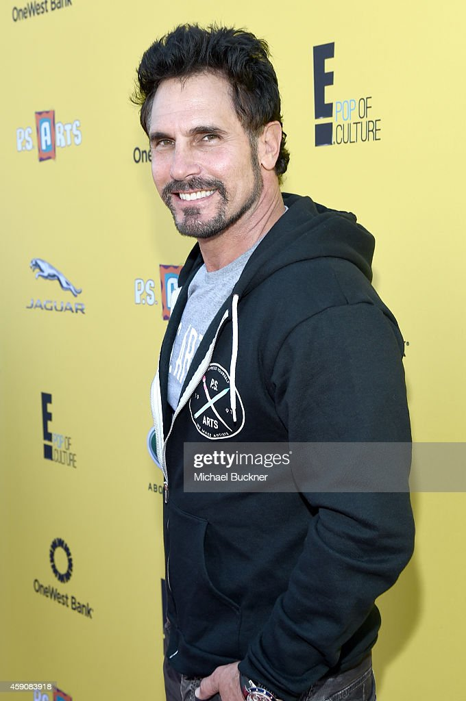 Actor Don Diamont attends PS ARTS presents Express Yourself 2014 with sponsors OneWest Bank and Jaguar Land Rover at Barker Hangar on November 16...