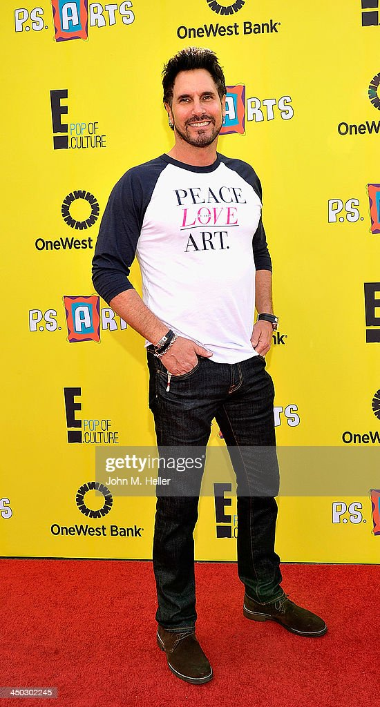 Actor Don Diamont attends the 2013 PS Arts Express Yourself at Barker Hangar on November 17 2013 in Santa Monica California