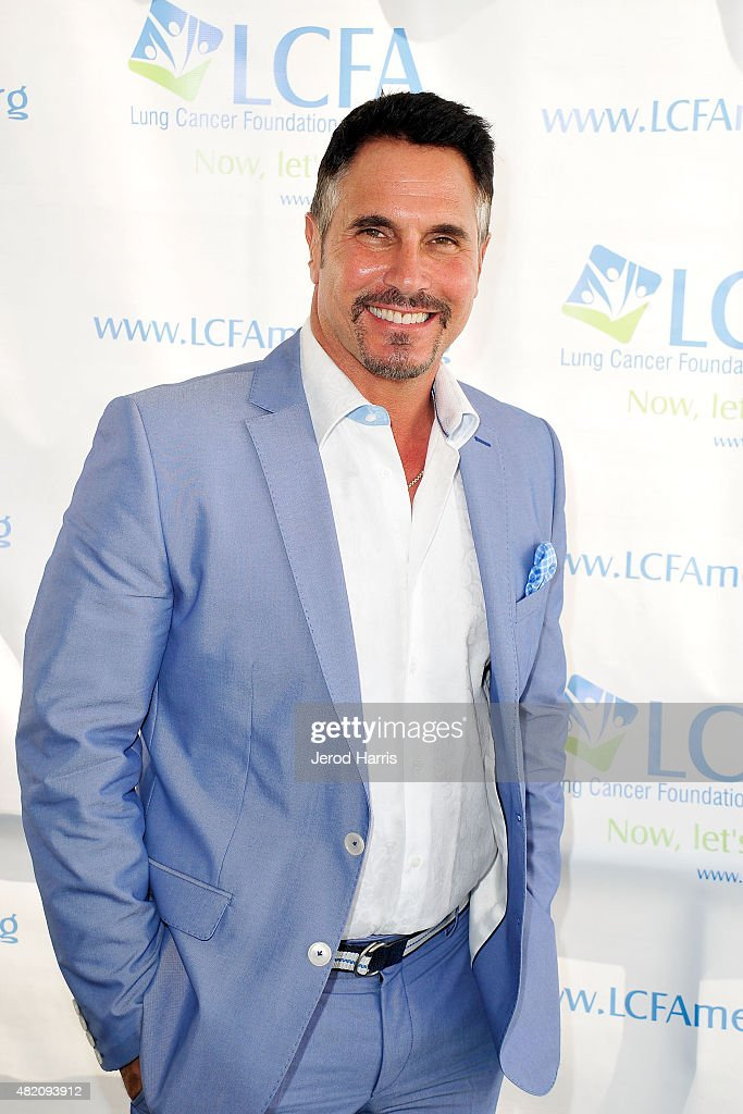 Actor Don Diamont attends the Lung Cancer Foundation of America's 6th Annual 'Day at the Races' at the Del Mar Race Track on July 26 2015 in Del Mar...