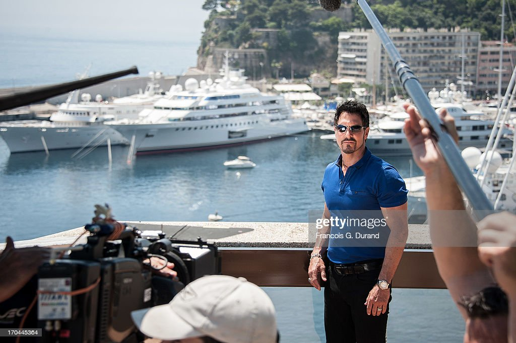 Actor Don Diamont is seen filming a scene of 'Bold And the Beautiful' on June 13, 2013 in Monaco, Monaco.