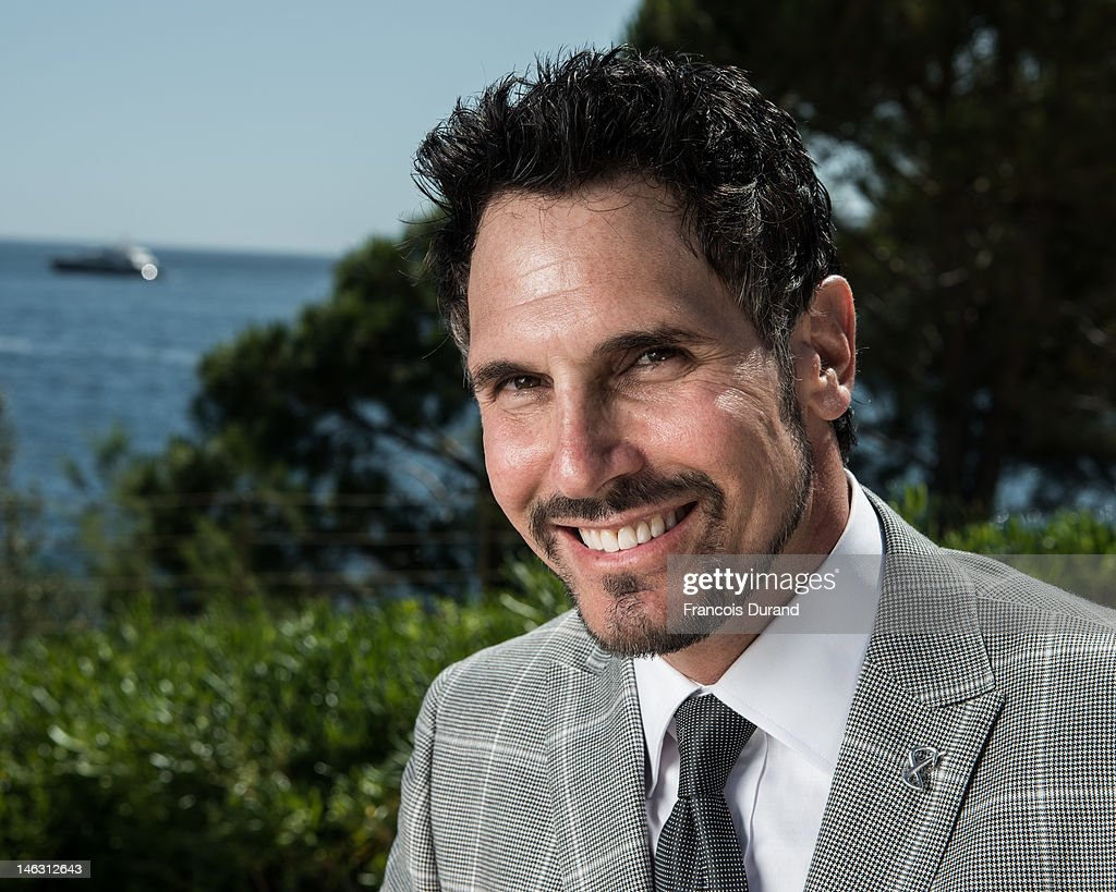 Actor Don Diamont poses for a portrait session at the Monte Carlo Bay Hotel during the 52nd Monte Carlo TV Festival on June 13 2012 in Monaco Monaco