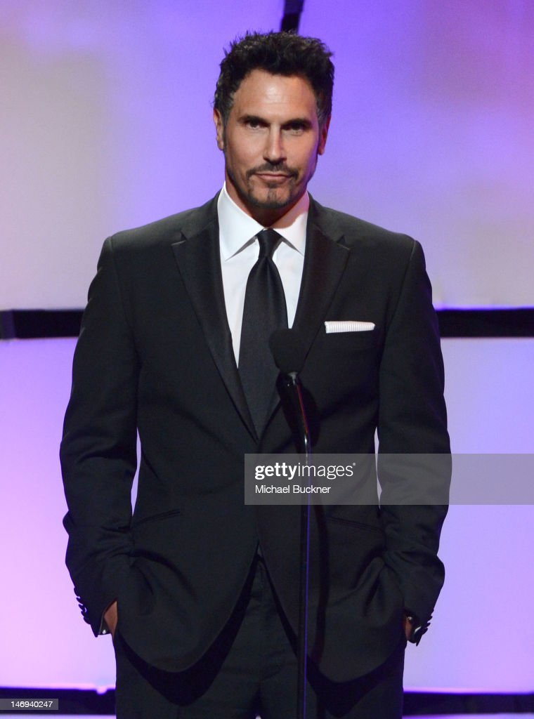 Actor Don Diamont speaks onstage during The 39th Annual Daytime Emmy Awards broadcasted on HLN held at The Beverly Hilton Hotel on June 23 2012 in...